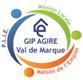 LOGO GIP AGIRE Val de Marque