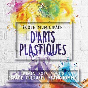 Plaquette Ecole Municipale d'Arts Plastique