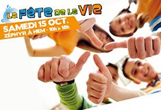 Samedi 15 octobre, fêtez la vie !