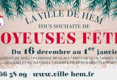 Du 16 décembre au 1er janvier c'est Noël à Hem !
