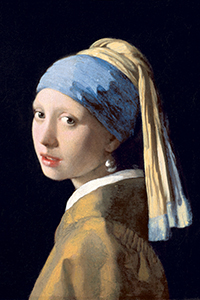 ***WARNING*** RESTRICTED USAGE --- Permission is needed for each use! Contact: Rosenau, Heidi rosenau@frick.org --- Hold for story slugged DUTCH paintings from Frick Collection *** Johannes Vermeer (1632ñ1675) Girl with a Pearl Earring, c. 1665 Oil on canvas 44.5 x 39 cm NYTCREDIT: Royal Picture Gallery Mauritshuis, The Hague