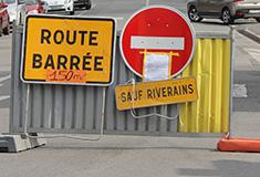 Travaux rue de Beaumont