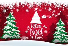 Des fêtes de Noël de rêve à Hem !