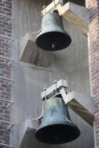 La cloche de la chapelle Sainte Thérèse, rue de Croix