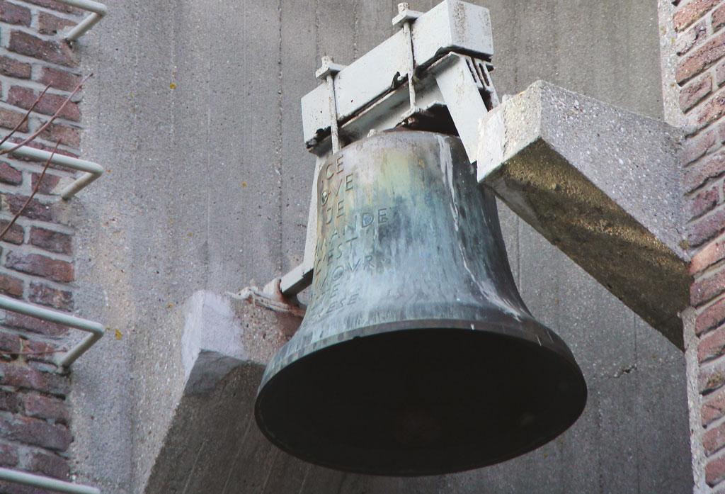 La cloche de la chapelle Sainte Thérèse
