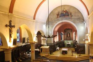 Intérieur de l'église Saint Corneille