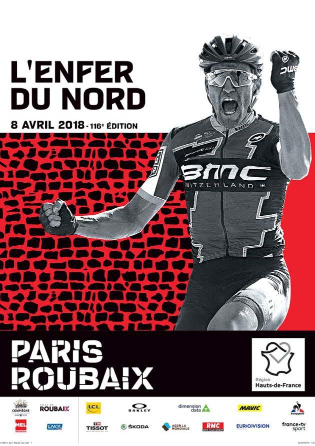Affiche Paris-Roubaix