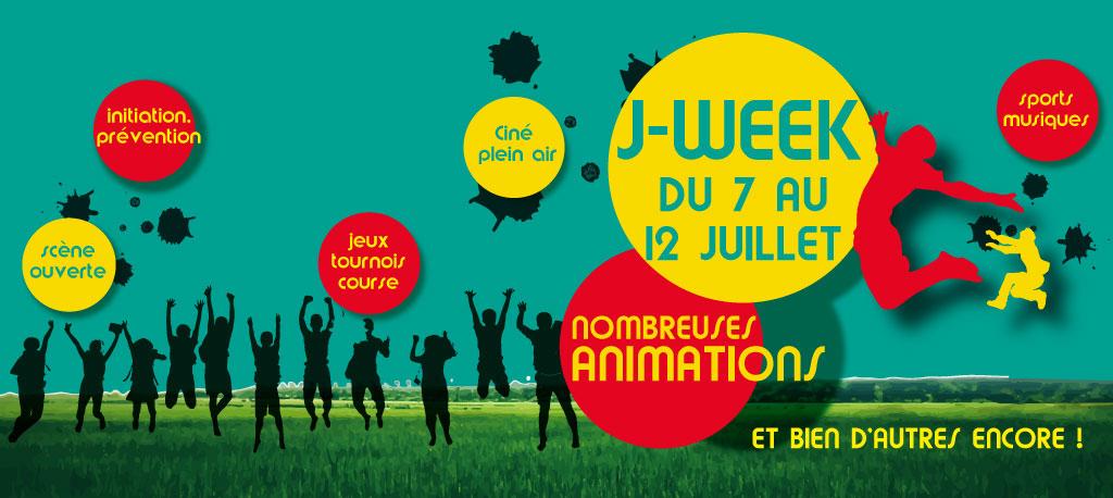 J-Week HEM du 7 au 12 juillet