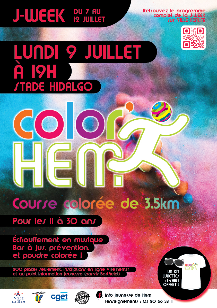 Affiche j-week_Color Hem 2018