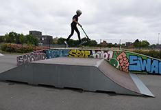 Skate Park fermé