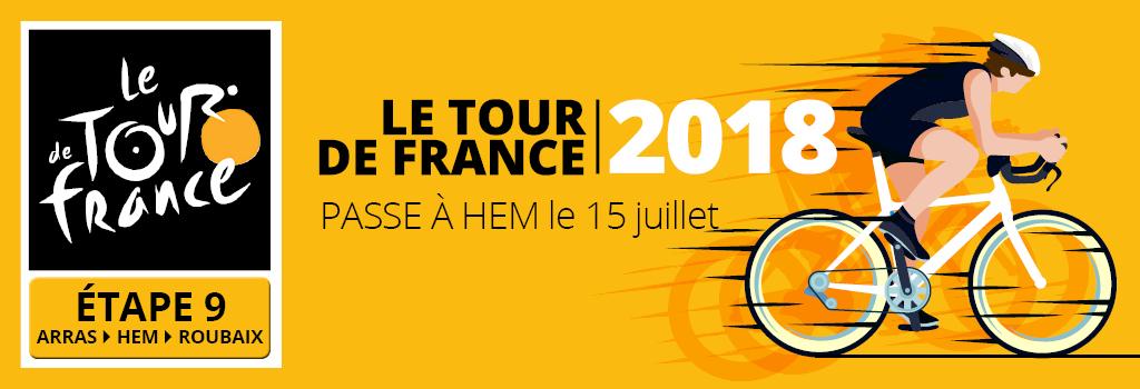 Tour de France 15 juillet 2018 à HEM