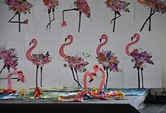 Exposition de l'école d'arts plastiques