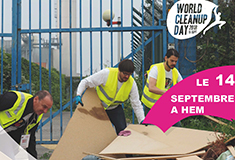 Le 14 septembre à Hem, participez au World Cleanup Day