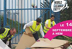 Le 14 septembre à Hem, participez au World Cleanup Day
