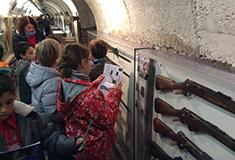 Les élèves de Hem en visite au musée «Somme 1916» à Albert