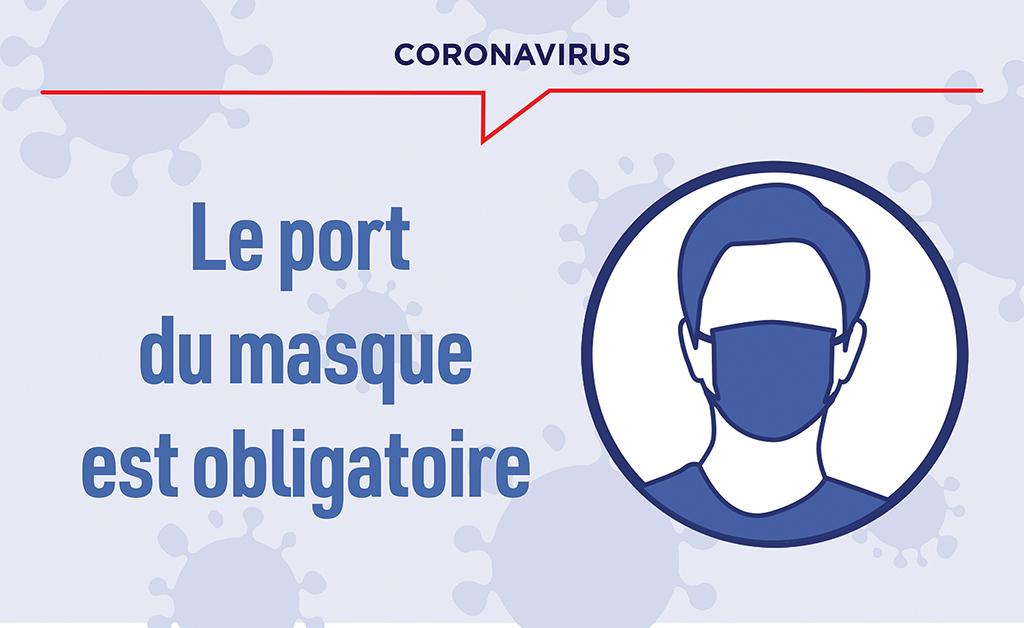Port du masque obligatoire dans la métropole lilloise - Ville de Hem