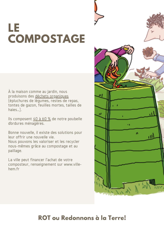 Fiche astuce Zéro déchet compostage