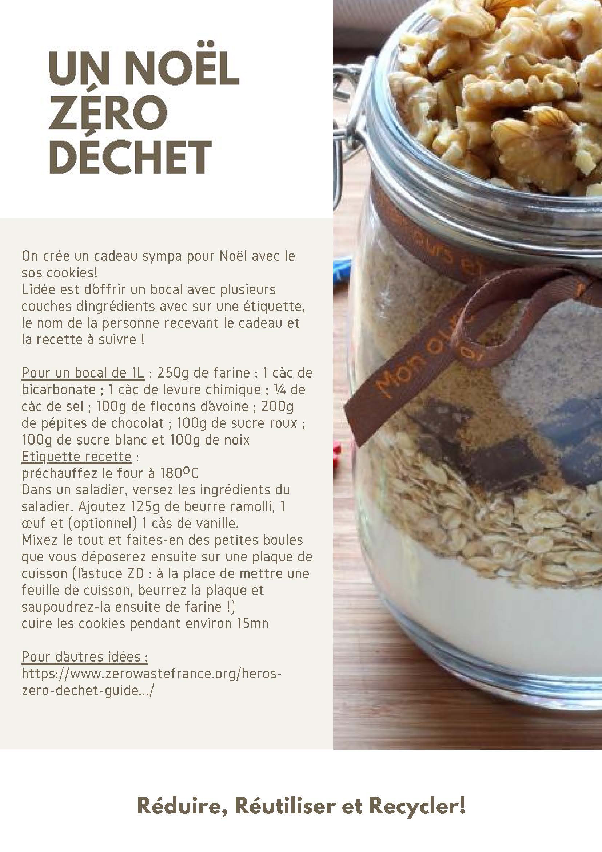 Tuto - pour Noel, bocal ingrédients cookies