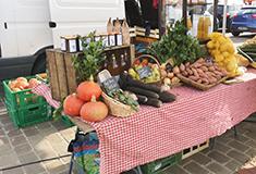 Ouverture d'un marché à Beaumont