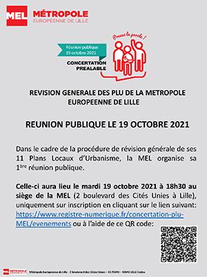 affiche de la réunion du 19 octobre 2021